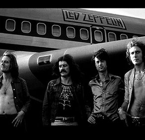 led-zeppelin airplane