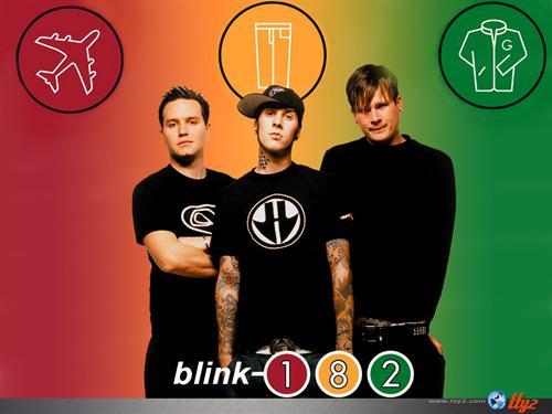 Blink182 colours