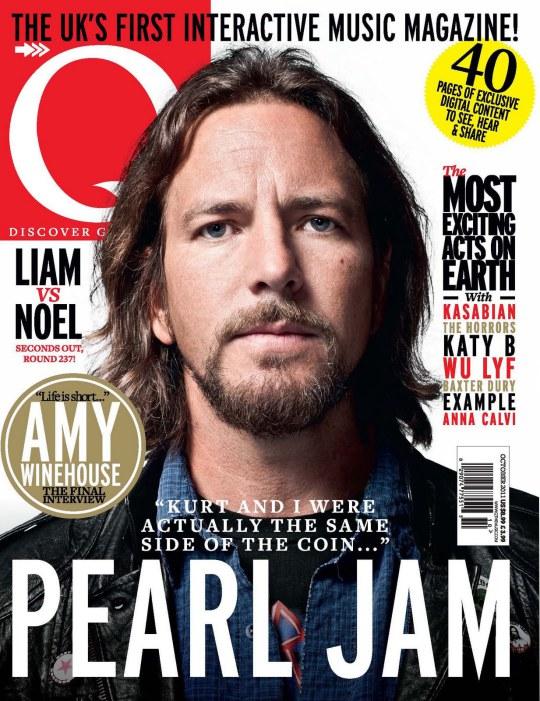 Eddie Vedder Pearl Jam Q