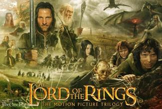 Lord of Ringstrilogyposter