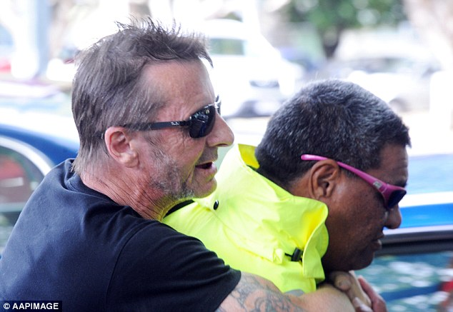 Phil Rudd piggyback