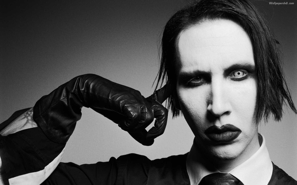 Marilyn manson monochrome_wallpaperswa.com_54