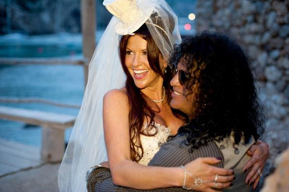 Perla Hudson, Slash's Wife, Accused of Kicking Female ... |Perla Hudson Instagram
