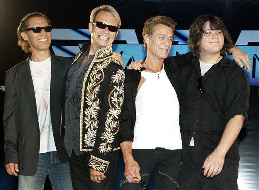 David Lee Roth, Eddie Van Halen, Alex Van Halen, Wolfgang Van Halen