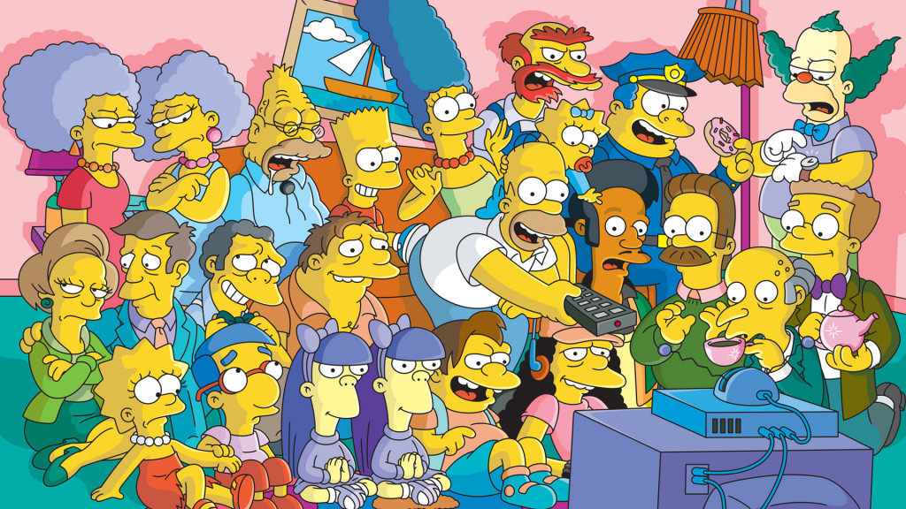 the-simpsons-tv-series-cast-wallpaper-109911