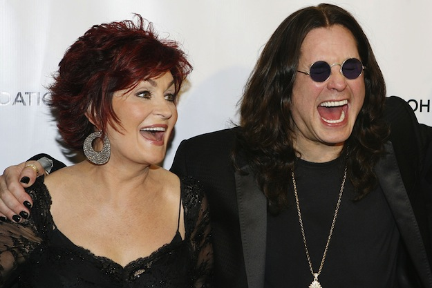 "NEW YORK - SEPTEMBER 25: (L-R) Sharon Osbourne, Ozzy Osbourne and Sir Elton John attend The Elton John AIDS Foundation's sixth annual benefit ""An Enduring Vision"" at The Waldorf Astoria Hotel on September 25, 2007 in New York City. (Photo by Amy Sussman/Getty Images) *** Local Caption *** Ozzy Osbourne;Sharon Osbourne;Elton John"