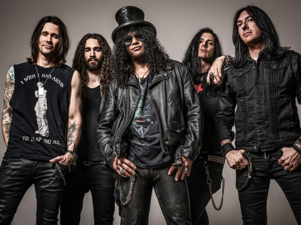 Slash and band