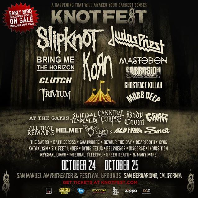 knotfest 2015posterbands