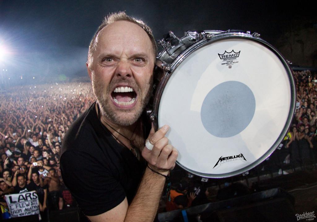Metallica lars drum