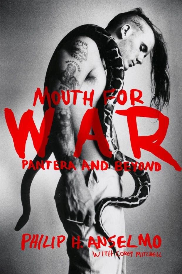 Pantera philip anselmo autobiographymouthcover