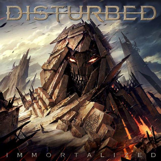 disturbed immortalizedcover