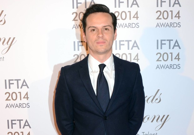 The Irish Film & Television Academy awards 2014 (IFTA) at DoubleTree by Hilton Dublin Hotel, Dublin, Ireland - 05.04.14. Pictures: G. McDonnell / Cathal Burke / VIPIRELAND.COM *** Local Caption *** Andrew Scott