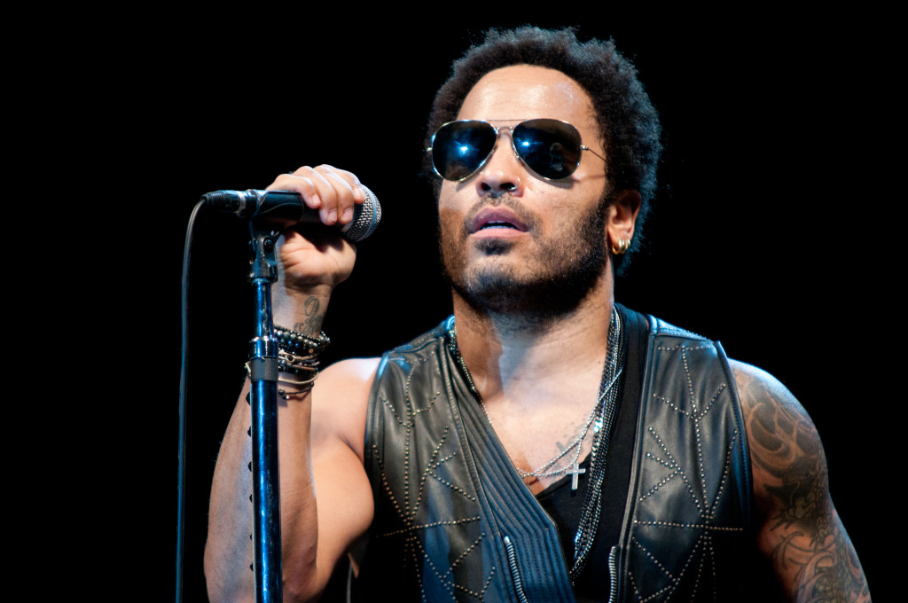 IBIZA, SPAIN - JULY 03: Lenny Kravitz performs onstage at Ibiza 123 Festival: Rocktronic Sunset Strip on July 3, 2012 in Ibiza, Spain. (Photo by Ollie Millington/WireImage)