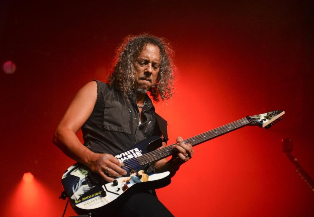 Metallica - kirk hammett 2