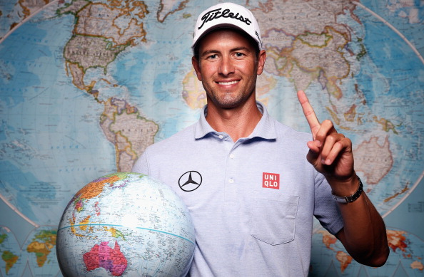 FORT WORTH, TX - MAY 21:  Adam Scott of Australia poses for a portrait prior to the start of the Crowne Plaza Invitational at Colonial on May 21, 2014 in Fort Worth, Texas. Scott will start the Crowne Plaza Invitational as the No. 1 golfer in the Official World Golf Ranking after taking over the number one spot from Tiger Woods earlier this week.  (Photo by Tom Pennington/Getty Images)