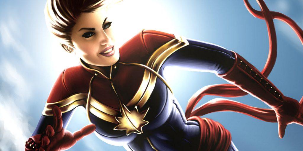 Captain-Marvel-Carol-Danvers-Art-by-Kay-Fix