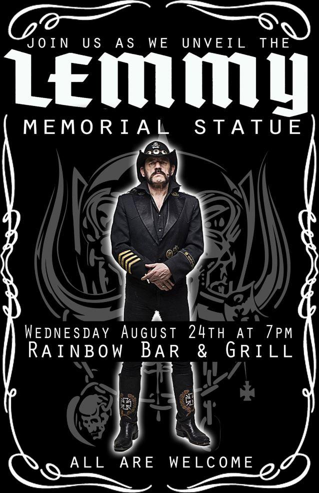 lemmy memorialstatueunveiling2016