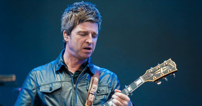 SAO PAULO, BRAZIL - MARCH 13: Noel Gallagher of Noel Gallagher's High Flying Birds performs live on sage at Autodromo de Interlagos on March 13, 2016 in Sao Paulo, Brazil. (Photo by Mauricio Santana/Getty Images) *** Local Caption *** Noel Gallagher