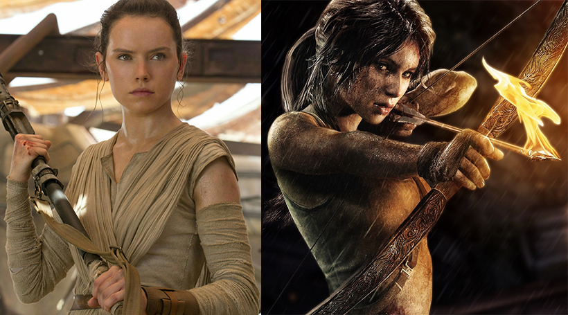 Star Wars Actress Daisy Ridley To Play Lara Croft In Tomb Raider