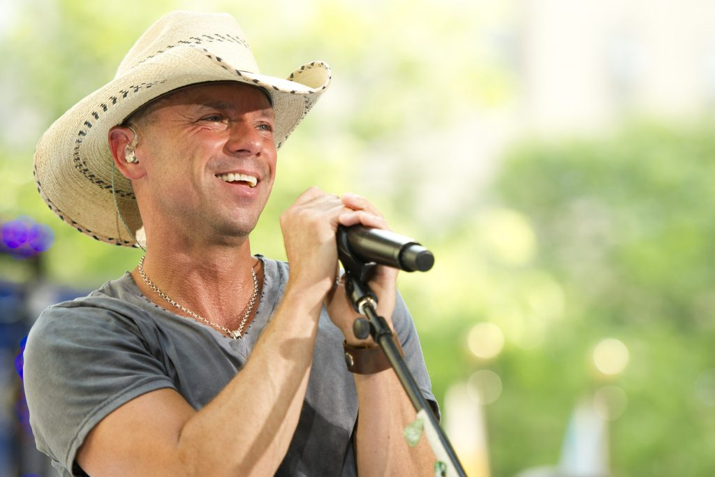 "Kenny Chesney performs on NBC's ""Today"" show on Friday, June 22, 2012 in New York. (Photo by Charles Sykes/Invision/AP) ORG XMIT: NYCS104"