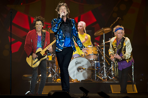 British rock band The Rolling Stones performs in concert during their Ole tour at Morumbi  stadium in Sao Paulo, Brazil, on February 24, 2016. AFP PHOTO / NELSON ALMEIDA / AFP / NELSON ALMEIDA        (Photo credit should read NELSON ALMEIDA/AFP/Getty Images)