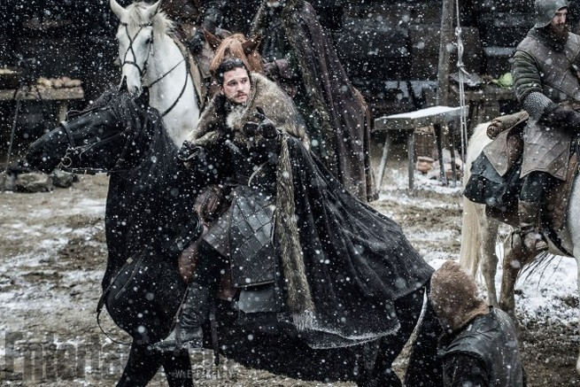 Game of Thrones TK Season 7, Episode TK Kit Harrington as Jon Snow